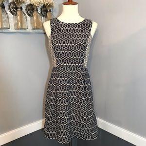 LOFT jacquard dress
